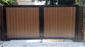 Synthetic Wood Gates